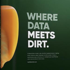Where data meets dirt
